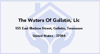 The Waters Of Gallatin, Llc