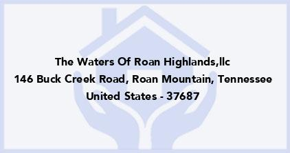 The Waters Of Roan Highlands,Llc