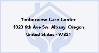 Timberview Care Center