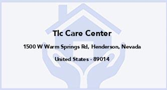 Tlc Care Center