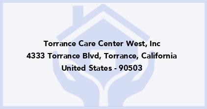 Torrance Care Center West, Inc