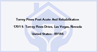 Torrey Pines Post Acute And Rehabilitation