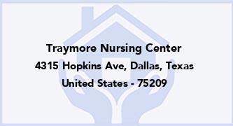Traymore Nursing Center