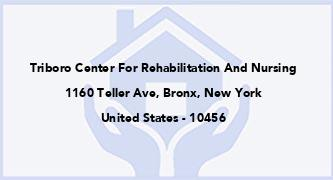 Triboro Center For Rehabilitation And Nursing
