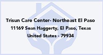 Trisun Care Center- Northeast El Paso