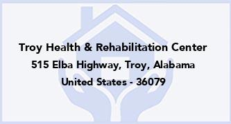 Troy Health & Rehabilitation Center