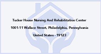 Tucker House Nursing And Rehabilitation Center