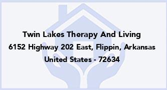 Twin Lakes Therapy And Living