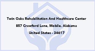 Twin Oaks Rehabilitation And Healthcare Center
