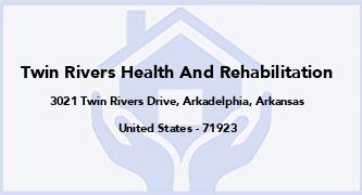 Twin Rivers Health And Rehabilitation