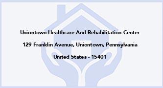 Uniontown Healthcare And Rehabilitation Center