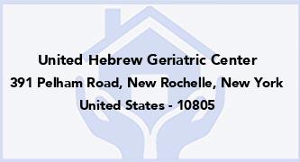 United Hebrew Geriatric Center