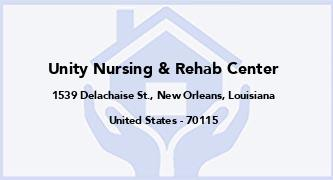 Unity Nursing & Rehab Center