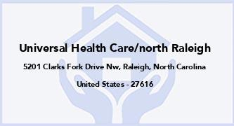 Universal Health Care/North Raleigh