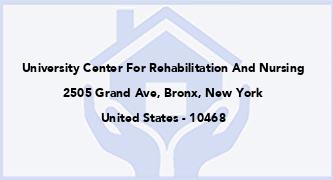 University Center For Rehabilitation And Nursing