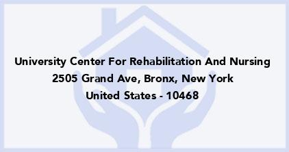 University Center For Rehabilitation And Nursing