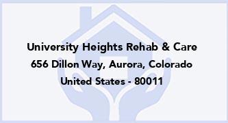 University Heights Rehab & Care