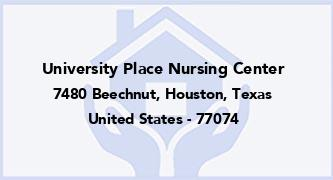 University Place Nursing Center