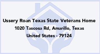 Ussery Roan Texas State Veterans Home