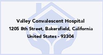 Valley Convalescent Hospital