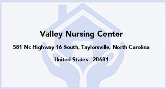Valley Nursing Center