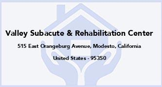 Valley Subacute & Rehabilitation Center