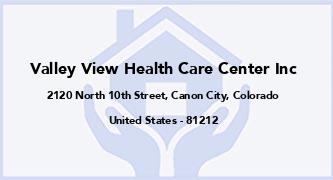 Valley View Health Care Center Inc