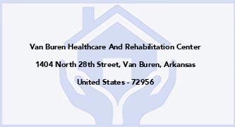 Van Buren Healthcare And Rehabilitation Center