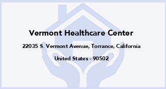 Vermont Healthcare Center