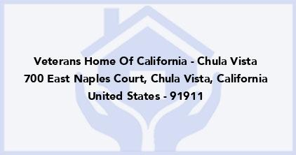 Veterans Home Of California - Chula Vista