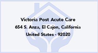 Victoria Post Acute Care
