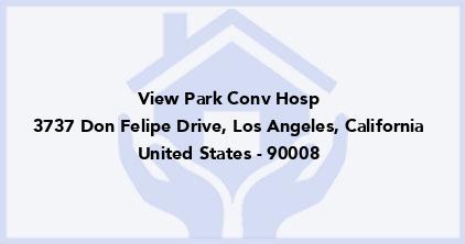 View Park Conv Hosp