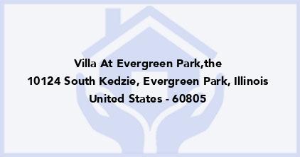 Villa At Evergreen Park,The