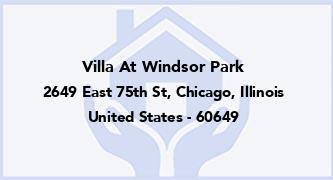 Villa At Windsor Park