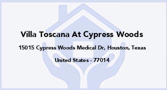 Villa Toscana At Cypress Woods