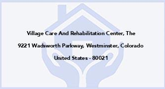 Village Care And Rehabilitation Center, The