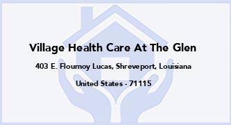 Village Health Care At The Glen