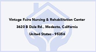 Vintage Faire Nursing & Rehabilitation Center
