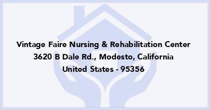 Vintage Faire Nursing & Rehabilitation Center