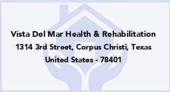 Vista Del Mar Health & Rehabilitation