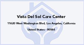 Vista Del Sol Care Center