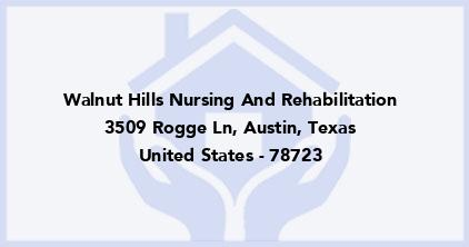 Walnut Hills Nursing And Rehabilitation