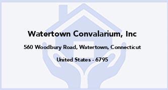 Watertown Convalarium, Inc