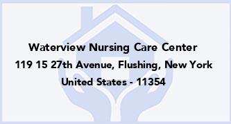 Waterview Nursing Care Center