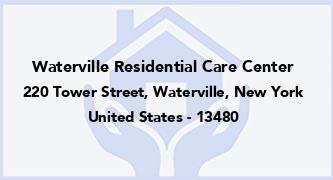 Waterville Residential Care Center