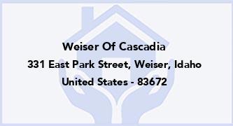 Weiser Of Cascadia