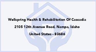Wellspring Health & Rehabilitation Of Cascadia