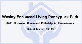 Wesley Enhanced Living Pennypack Park