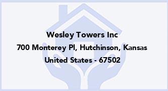 Wesley Towers Inc