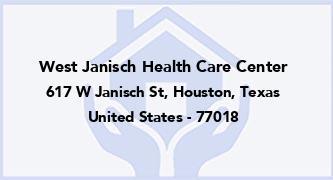 West Janisch Health Care Center
